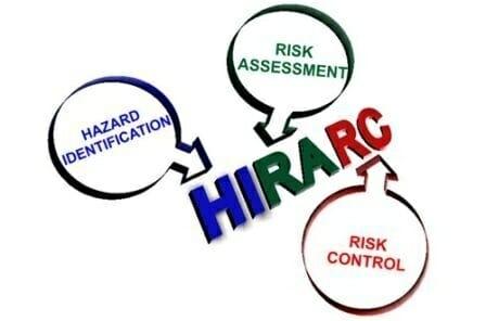 Hazard Identification, Risk Assessment & Risk Control (HIRARC)