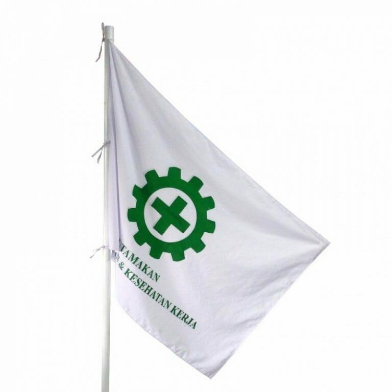 Aturan dan Standardisasi Ukuran Bendera K3 Sesuai SK. Menaker No. 1135/1987